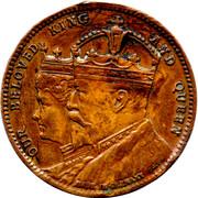 Edward VII Coronation – obverse