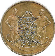 Esso Token - FA Cup Centenary 1872-1972 (Leeds United) – obverse