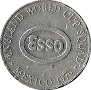 Esso Token - 1970 England World Cup Squad (Francis Lee) – reverse