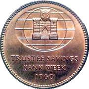 Token - Trustee Savings Bank Week 1960 – reverse