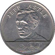 Esso Token - 1970 England World Cup Squad (Jeff Astle) – obverse
