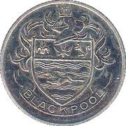 Esso Token - FA Cup Centenary 1872-1972 (Blackpool) – obverse