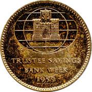 Token - Trustee Savings Bank Week 1959 – reverse