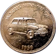 Shell Token - Morris Mini-Minor 1959 – obverse