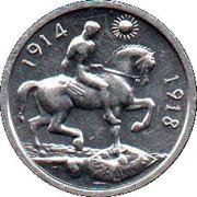 Cleveland Petrol Token - War Medal 1914 - 1918 – obverse