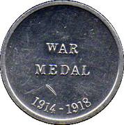 Cleveland Petrol Token - War Medal 1914 - 1918 – reverse