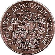 Farthing - Pentref Llechwedd Village – obverse
