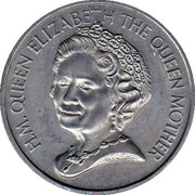 Medal - Queen Elizabeth The Queen Mother (90th Birthday) – obverse