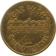 Car Wash Token - Otodoesi – obverse