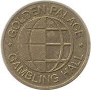 Game Token - Golden Palace Gambling Hall – obverse