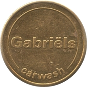 Car Wash Token - Gabriëls – obverse