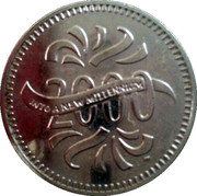 Token - Sainsbury's Makers of the Millennium (James Watt) – reverse