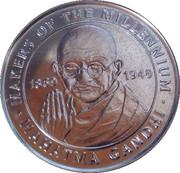 Token - Sainsbury's Makers of the Millennium (Mahatma Gandhi) – obverse