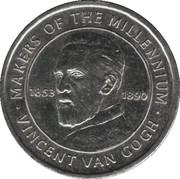 Token - Sainsbury's Makers of the Millennium (Vincent van Gogh) – obverse