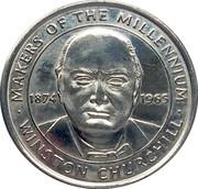 Token - Sainsbury's Makers of the Millennium (Winston Churchill) – obverse