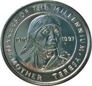 Token - Sainsbury's Makers of the Millennium (Mother Teresa) – obverse
