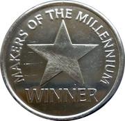 Token - Sainsbury's Makers of the Millennium (Winner) – obverse