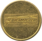Car Wash Token - Jetmaster – obverse