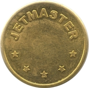 Car Wash Token - Jetmaster – reverse