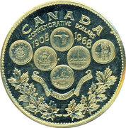 Token - Canada Commemorative Dollars 1908-1968 – obverse