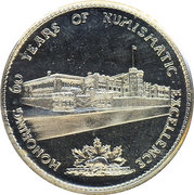 Token - Canada Commemorative Dollars 1908-1968 – reverse
