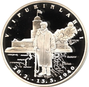 Token - Continuation War (Vyborg Bay) – obverse