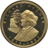 Token - Richard Wagner – obverse
