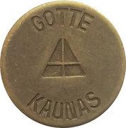 Casino Gaming Token - Gotte Kaunas (10) – obverse
