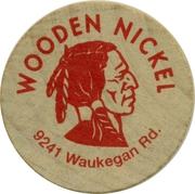 Wooden Nickel - Morton Grove Coins – reverse