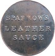 1 Farthing - Sparrow Nail Merchant London – obverse