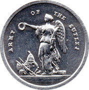 Cleveland Petrol Token - Sutlej Campaign medal 1845-1846 – obverse