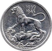 Cleveland Petrol Token - War medal 1939-1945 – obverse