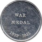 Cleveland Petrol Token - War medal 1939-1945 – reverse