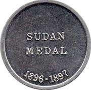 Cleveland Petrol Token - Sudan medal 1896-1897 – reverse