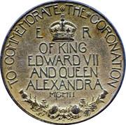 Edward VII Coronation – reverse