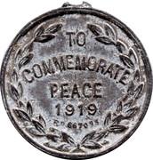 1919 Peace Medallion – reverse