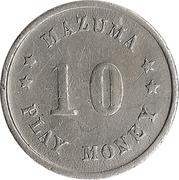 10 Mazuma Play Money (John Paul Jones) – reverse