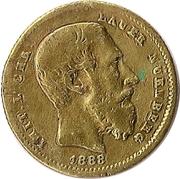 10 Francs 1888 (Lauer) – obverse