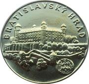 Token - Bratislavský hrad – obverse
