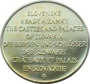 Token - Bratislavský hrad – reverse