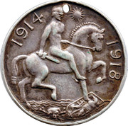 George V Medallion – reverse