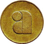3 Pence - A (Vending Token) – obverse