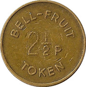 2½ Pence - Bell-Fruit Token (2 I/2) – obverse