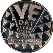 Token - VE Day Anniversary (British Legion) – obverse