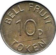 10 Pence - Bell Fruit Token – reverse