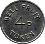 4 Pence - Bell Fruit Token (Copper-nickel) – obverse