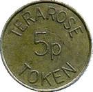 5 Pence - Terarose – obverse