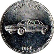 Token - Shell (N.S.U Ro80 1968) – obverse
