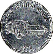 Token - Shell (Lamborghini Miura 1970) – obverse