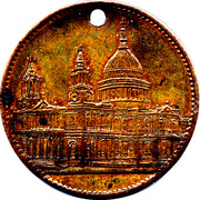 Token - London (St. Pauls Cathedral) – obverse